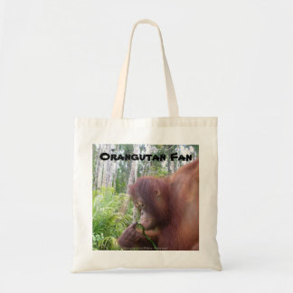 Orangutan Fan Canvas Bags