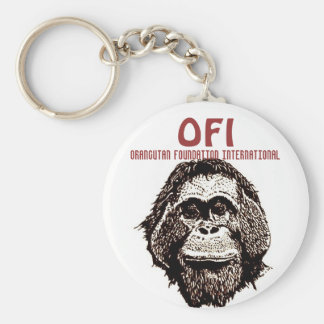 Orangutan Foundation International Keychain