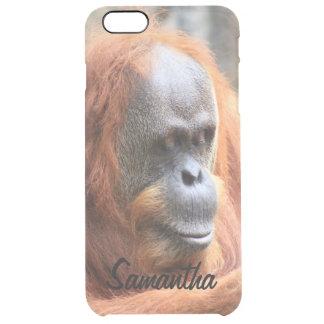 Orangután Funda Clearly™ Deflector Para iPhone 6 Plus De Unc