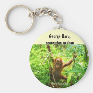 Orangutan George Keychains
