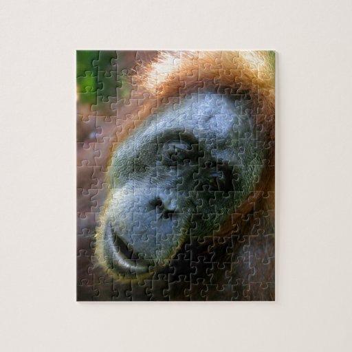 Orangutan Gunung Leuser Sumatra Puzzle