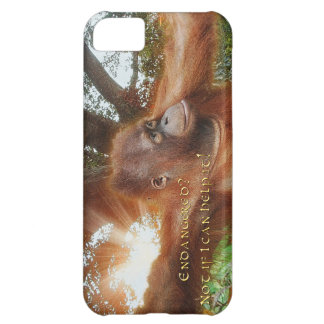 Orangutan in Borneo Jungle Sunlight iPhone 5 Case