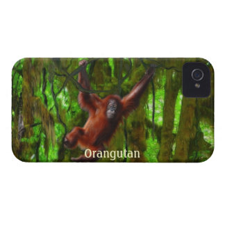 Orangutan & Jungle Wildlife Blackberry Case