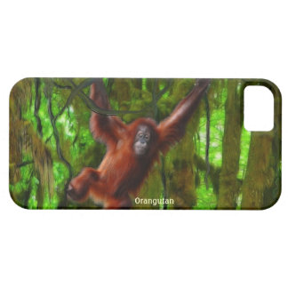 Orangutan & Jungle Wildlife iPhone 5 Case
