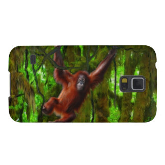 Orangutan & Jungle Wildlife Samsung Case