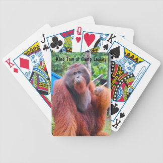 Orangutan King at Camp Leakey Playing Cards