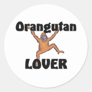 Orangutan Lover Stickers