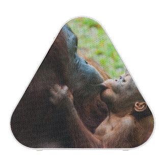 Orangutan mother and baby bluetooth speaker