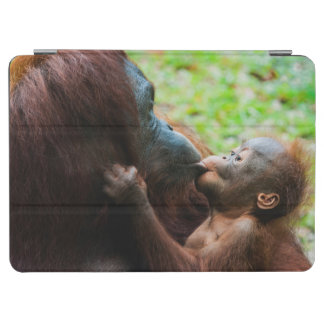 Orangutan mother and baby iPad air cover