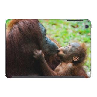 Orangutan mother and baby iPad mini cover
