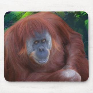 Orangutan Mouse Pad