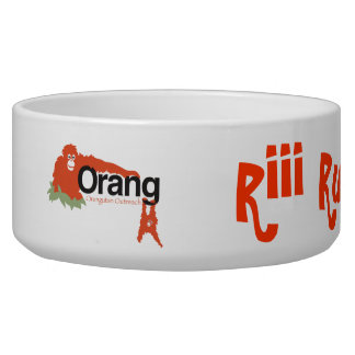 Orangutan Outreach Dog bowl dish
