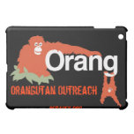 Orangutan Outreach iPad cover/case