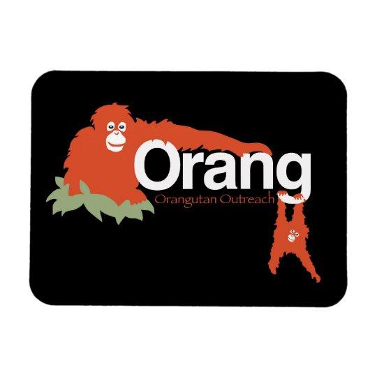 Orangutan Outreach Magnet Mom & Baby
