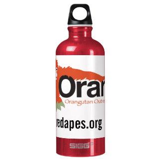 Orangutan Outreach re-usable Aluminum Water Bottle