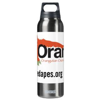 Orangutan Outreach re-usable Insulated Water Bottle
