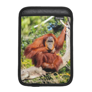 Orangutan photo iPad mini sleeve