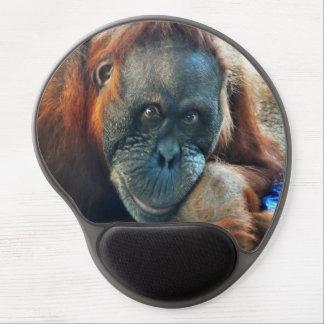 Orangutan Portrait Gel Mouse Pad
