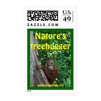 Orangutan postage stamp #3