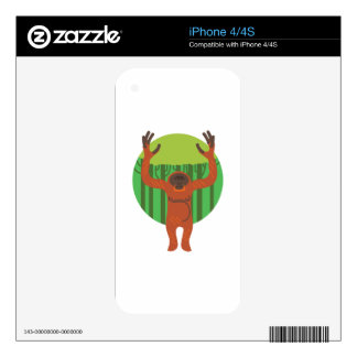 Orangutan Primate Skin For iPhone 4