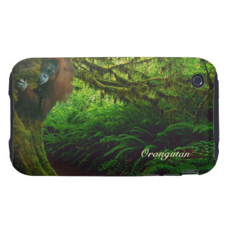 Orangutan & Rainforest Wildlife iPhone 4 Case