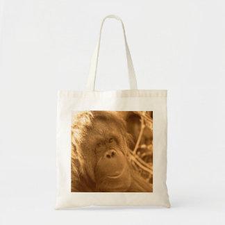 Orangutan Reusable Grocery Bag