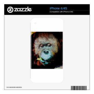 Orangutan Skin For iPhone 4S