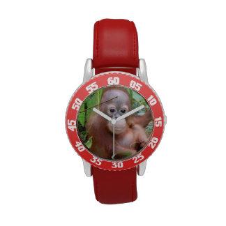 Orangután Steppenwolf del bebé Reloj De Mano
