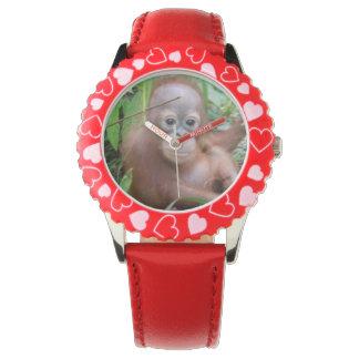 Orangután Steppenwolf del bebé Relojes De Mano