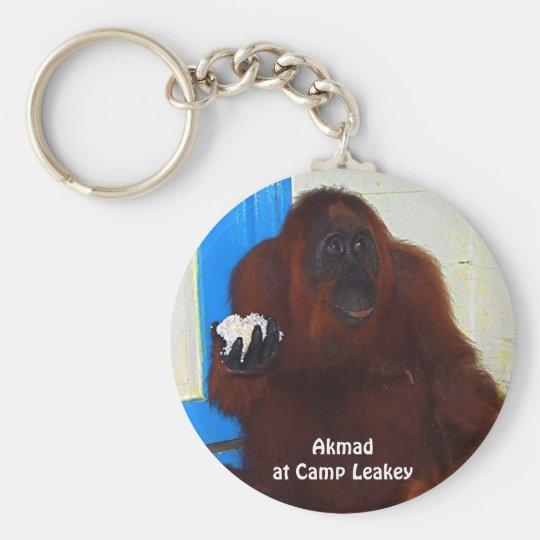 Orangutan Super Model Keychain