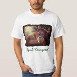 Orangutan Supporter Red Ape Wildlife Art Shirt