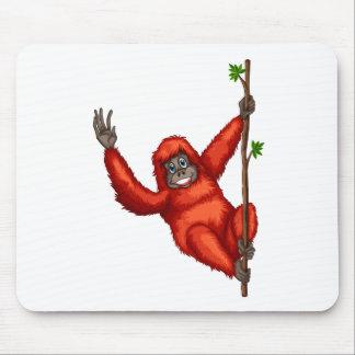 Orangután Tapetes De Ratón