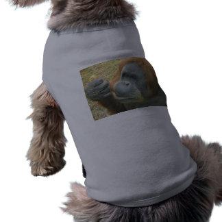 Orangutan Top for large dogs Doggie Tee Shirt
