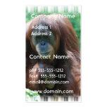 Orangutan with Baby Business Card