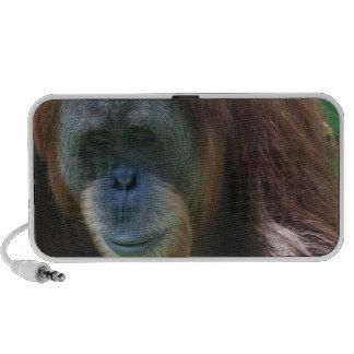 Orangutan with Baby Portable Speakers