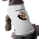 OrangutanFan Ropa De Mascota