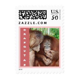 Orangutans: Princess Gets Treats Postage