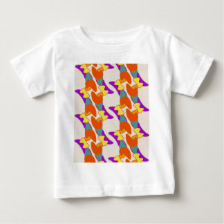 Orangy Abstract Infant's Tee