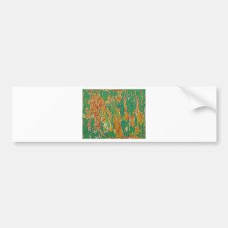 Oranic Schematic Bumper Sticker