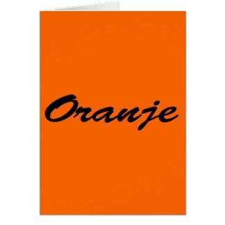 Oranje Card
