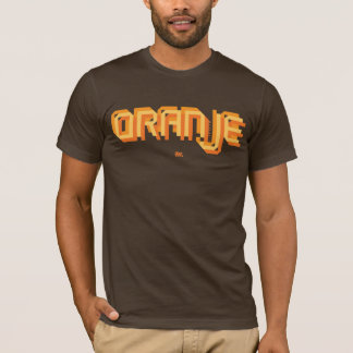 Oranje Dutch Soccer - Brown Shirt