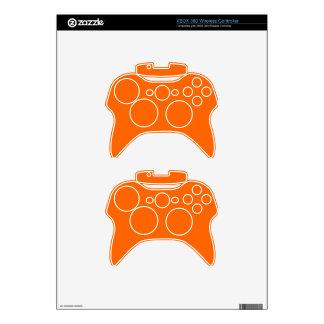 Oranje inalámbrico del regulador de Xbox 360 de la Mando Xbox 360 Skin