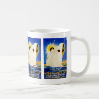 Oranje ~ Nederland Line Classic White Coffee Mug