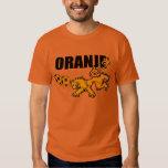 Oranje Persieing Voetbal Netherlands Soccer T-Shirt