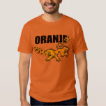 Oranje Persieing Voetbal Netherlands Soccer Tshirt