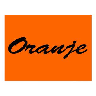 Oranje Postcard
