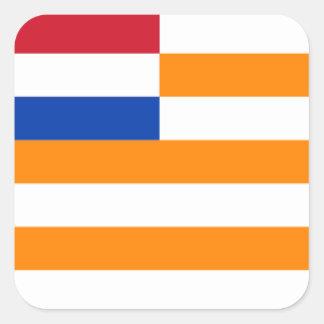 Oranje-Vrystaat Square Sticker