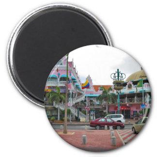 Oranjestad Aruba Imán Redondo 5 Cm