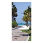 oranjestad aruba photo greeting card