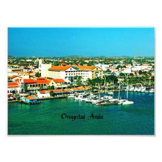 Oranjestad Aruba Photo Print